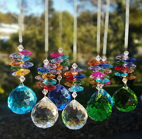 30mm rainbow suncatchers 2nds