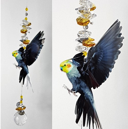 cockatiel crystal sunatcher