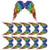 chakra angel wing film designs
