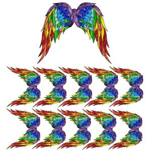 chakra angel wing film designs
