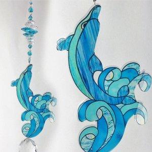 dolphin suncatcher #1
