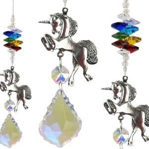 chakra unicorn suncatcher #1