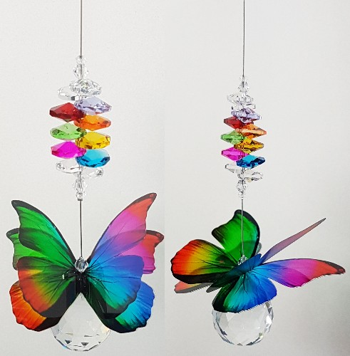 Rainbow Butterfly suncatcher C1i-1