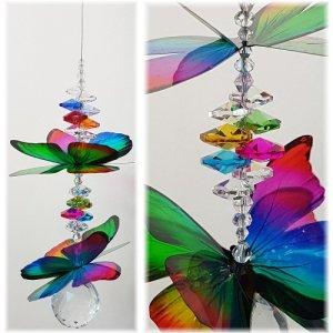 Rainbow Butterfly suncatcher C1i-L 500