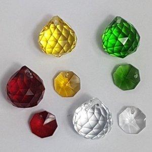 120pc christmas crystal set