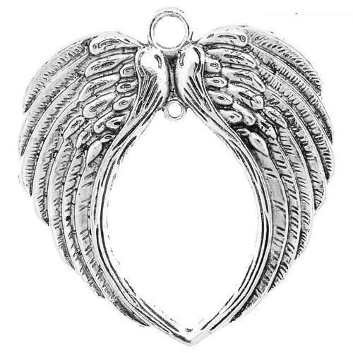 Angel wing pendant large #2