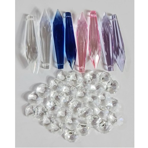 40pc crystal icicle set
