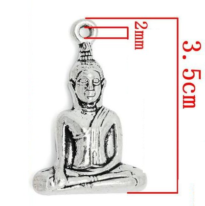 Buddha Charm pack of 3