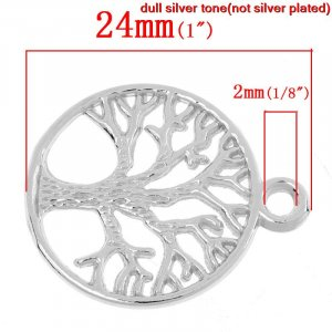 Tree of Life Charm #5 pack of 6