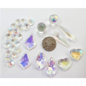 set C crystal suncatcher pack