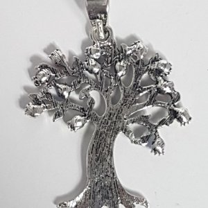 Large Rhinestone Tree of Life Charm