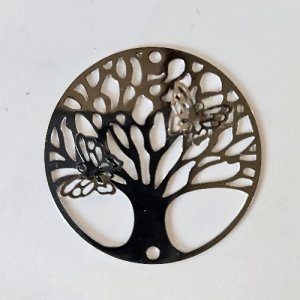 tree of life filigree charm no-3