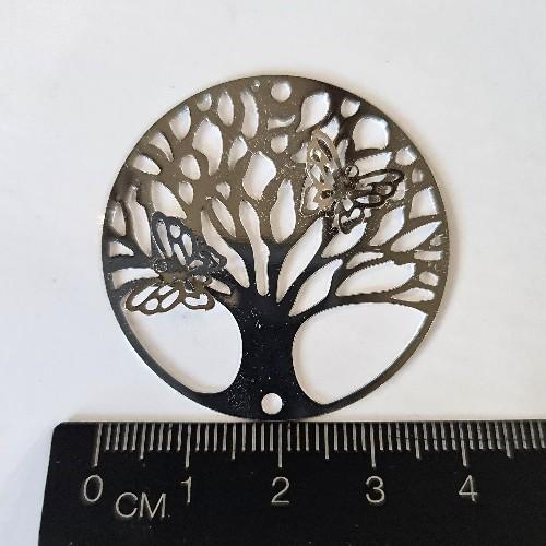 tree of life filigree charm no-3