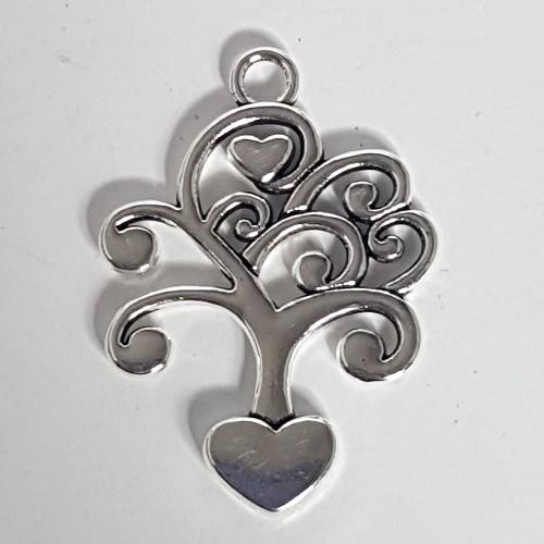 tree of life filigree charm no-8