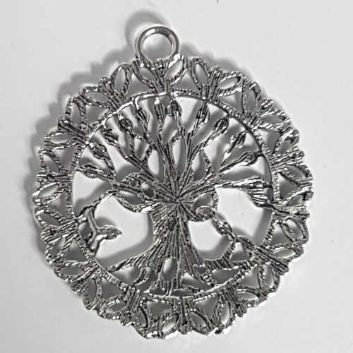 tree of life filigree charm no-9