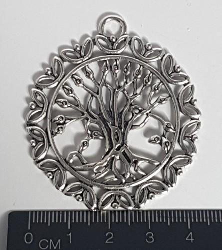 tree of life filigree charm no-9